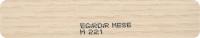 28*0.80 mm Yıldız Entegre ılgaz Meşe pvc kenar bantları
